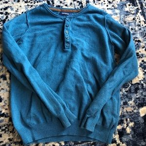 Other - Blue knitted sweater size 8